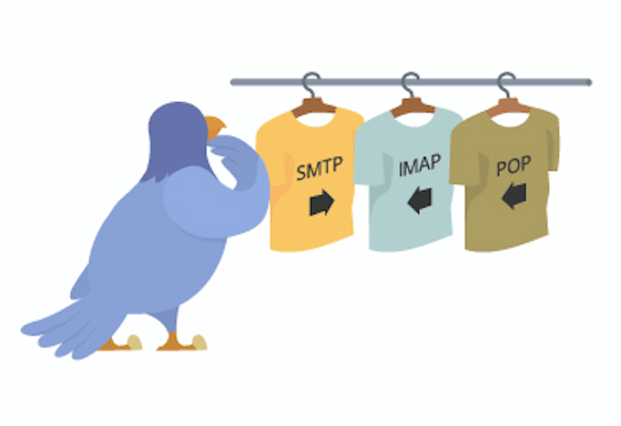 Types of Email protocol : IMAP, POP3, SMTP and HTTP